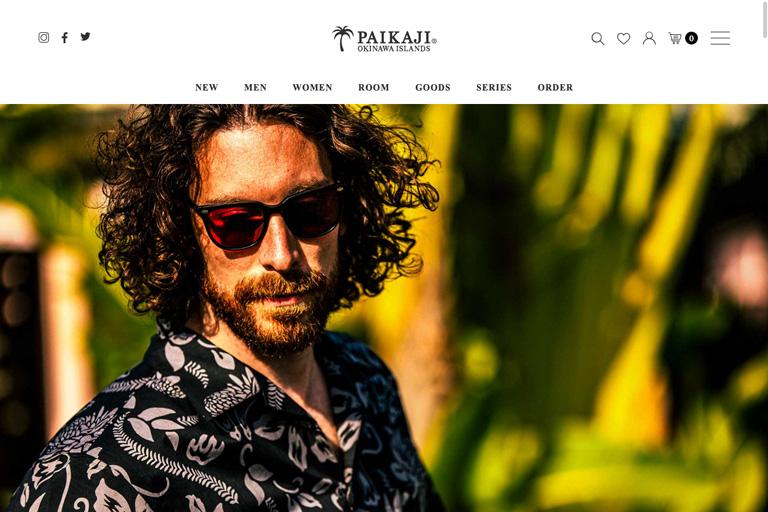 株式会社ジュネ様 【衣類販売】PAIKAJI公式通販サイト